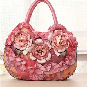 Handbags - Brand New Flower Satchel Tote Bag